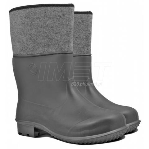 96e746a5712912 buty gumofilce EVA 44 KOLMAX piankowe czarne | IMET B2B- hurtownia ...