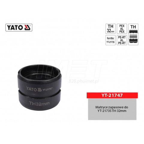 MATRYCE ZAPASOWE DO YT-21735 TYP TH 32MM