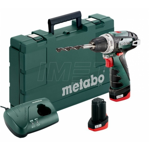 Wkrętarka 10,8V 2x2Ah 34Nm kufer Metabo